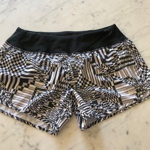 Nike running shorts - small